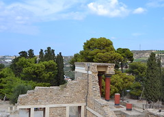 Greece (mademoisellelapiquante) Tags: greece europe knossos palaceofknossos ancientgreece ancient ancientart ancienthistory ruins knosos bronzeage crete