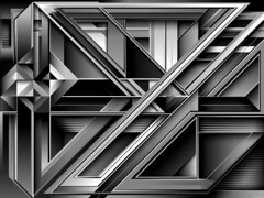 J.243_mckie_BW (Marks Meadow) Tags: abstract abstractart geometric geometricart design abstractdesign neogeo color pattern illustrator vector vectorart hardedge vectordesign interior architecture architectural blackwhite surreal space perspective colour asymmetry structure postmodern element cubism technology technical diagram composition aesthetic constructivism destijl neoplasticism decorative decoration layout contemporary symmetrical mckie