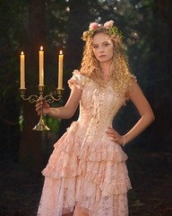 Lacy Fairytale Candles 1473 A (jim.choate59) Tags: fairytale princess forest maiden jchoate candelabra candles on1pics