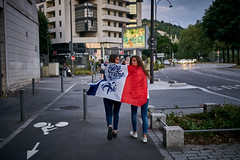 Proud to be Blue (Hector Corpus) Tags: leicam240 voigtlandervm35mmf17ultron worldcup france rouen
