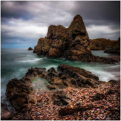 Never Taken for Granted (Augmented Reality Images (Getty Contributor)) Tags: nisifilters benro canon cliffs clouds coastline horizon landscape longexposure morayshire portknockie rocks scotland seascape water waves