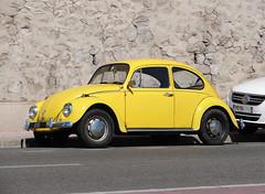 Yellow ! (Maxofmars) Tags: car old volkswagen marseille marsella marsiglia france francia europe europa street calle