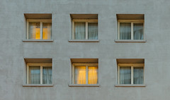 Glowing windows (bady_qb) Tags: 35mmf28za fe35mmf28za sonya7ii architecture window glowing a7ii sonyalpha san francisco minimal wallpaper buildings