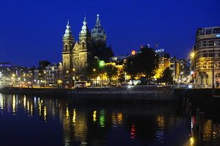 Prins Hendrikkade - Nicolaaskerk