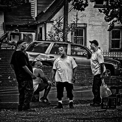 """""""Nothing Beats The Spiritual Bond We Feel From Spending The Evening With Our Homies At The Spot"""", Martin Luther King Jr. Avenue, Historic Anacostia, Washington, DC (Gerald L. Campbell) Tags: streetphotography street squareformat spirituality spiritualindifference socialdocumentary alienation aloneness bw blackwhite blackmale blackmales citylife community canonsx60hs dc digital freedom historicanacostia indifference injustice inequality justice love life martinlutherkingjravenue urbanphotography urban unitedstates washingtondc yearning yeswecan"""