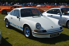 Porsche 911 Carrera 2.7 RS (CA Photography2012) Tags: hud96l porsche 911 carrera 27 rs classic german legend rennsport white blue sports car supercar touring grand tourer icon special rare ca photography automoitve exotic spotting owners club lotherton hall 2018