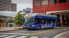 WMATA Metroway 2016 New Flyer Xcelsior XN40 #2987 (MW Transit Photos) Tags: wmata metroway new flyer xcelsior xn40