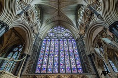 Window of the Angel Choir (Aaron Pack (100,000+ views Thank You x)) Tags: lincoln cathedral architecture nikond7000 tokina 1120 mm