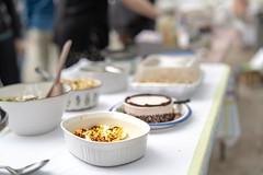Picnic Table (hoffler_pictorials) Tags: hofflerpictorials tables dessert pie cake salads eggs bokeh focus ilce7m3 sony snacks food picnic samyanglenses