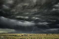 From the belly of the beast (Dave Arnold Photo) Tags: nm nmex newmex newmexico loslunas elcerro mountains range lightning lightening desert storm stormy thunderstorm thunder image pic us usa picture severe photo photograph photography photographer davearnold davearnoldphotocom night scenic cloud rural party summer badweather top wet daylight canon 5d mkiii 24105mm huge big valenciacounty landscape nature monsoon outdoor weather rain rayos cloudy sky cloudburst raincolumn rainshaft season southwest monsoons strike albuquerque abq