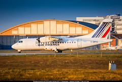 [TLS.2008] #Airlinair #AN #AF #ATR-42 #F-GPYO #Ex-Air.Littoral #awp (CHR / AeroWorldpictures Team) Tags: airlinair opf air france atr 42 cn 544 reg fgpyo eng pw100150 history aircraft first flight test fwwlh toulouse lfbo delivered airlittoral fu lit leased giecallen config cabin y48 lease egyptair ms msr tsf an rla hop a5 natixislease sold skyexpress gq seh sxsix at4 atr42 sunset planespotting plane aircrafts airplane blagnac tls nikon d80 nikkor 70300vr raw lightroom aeroworldpictures awp chr 2008