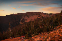 Dawns Glow (Tony Hochstetler) Tags: nikon nikon2870mmf28 d850 breakthroughphotography circularpolarizer graduatedneutraldensity trailridge sunrise rmnp rockymountainnationalpark nationalpark colorado landscape horizontal mountains sky clouds