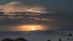 Flash Photography (gseloff) Tags: lightning weather clouds sky rain sand gypsum desert nature landscape whitesandsnationalmonument newmexico gseloff