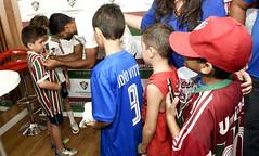 Fluminense FC 13/09/2018 (Fluminense F.C.) Tags: assinando dandoautógrafo