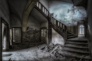 rotten staircase