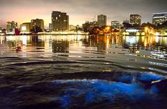 Bio-luminescence in Lake Merritt, Oakland, California (Damon Tighe) Tags: oakland bioluminescence glow water night marine california bayarea sfbay sf cityscapes nature wonder baynature ca norcal city lake merritt lakemerritt bio luminescence bioluminescent dinoflagellate