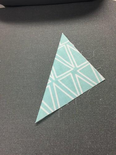 fold fabric in half - fabric coasters