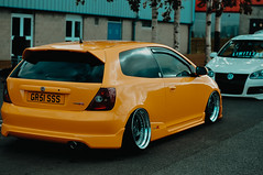 Cleanfest 2018 (Meepe) Tags: cleanfest esptr eurospotter modded slammed car bagged fitment static coilover bbs lupo audi custom harlequin polo volkswagen golf civic porsche abarth scotland photography bmw