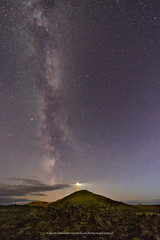 Reykjanes lighthouse (Kjartan Guðmundur) Tags: iceland ísland lighthouse milkyway lava sky stars outdoor nightscape nocturne ngc canoneos5dmarkiv sigma14mmf18art