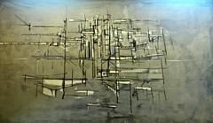 Untitled (Undated) -  Maria Helena Vieira da Silva (1908-1992) (pedrosimoes7) Tags: mariahelenavieiradasilva vieiradasilva artgalleryandmuseums shockofthenew ✩ecoledesbeauxarts✩