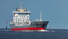 Tanker Excello (antje whv) Tags: schiffe cuxhaven elbe ships