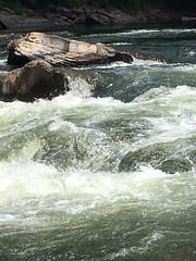 new river 3 (GAWV) Tags: newriver new river water falls rapids kayak kayaking rocks wv trees fun west virginia