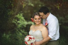 :: apple of his eye :: (mjcollins photography) Tags: couple bride groom love wedding outdoors