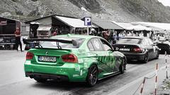 BMW 335i (Calin Sirbu) Tags: car cars vehciles sport sports fast transfagarasan lake balea low romania tuned customcarsgt custom gt tour sponsors mountain bmw 335i green alex banu maxx performance