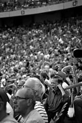 Nuda / Boredom - Poland 2018 (Tomek Szczyrba) Tags: nuda boredom bw monochrome noir street photo streetphoto polska poland ludzie człowiek people stadion stadium ziewanie yawning man tłum crowd streetphotography fotografiauliczna mob blackandwhite noiretblanc enblancoynegro inbiancoenero czerń biel czerńibiel czarnobiałe
