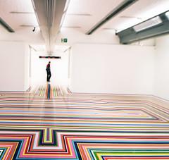 Floor illusion (Gill Stafford) Tags: gillstafford gillys england merseyside liverpool tate gallery illusion floor exhibition