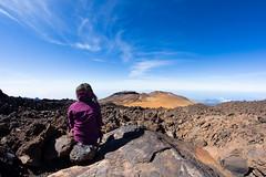 Hiking on the El Teide Volcano in Tenerife (Zeeyolq Photography) Tags: canaria canaryislands elteide hiking tenerife volcano woman laorotava canarias espagne es