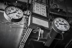 alarm (petdek) Tags: instrument blackandwhite industrial