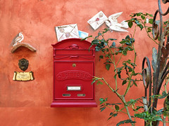 Certaldo (Jolivillage) Tags: jolivillage village borgo pueblo certaldo toscane tuscany toscana certaldoalto italie italia italy europe europa boîteauxlettres détail picturesque geotagged