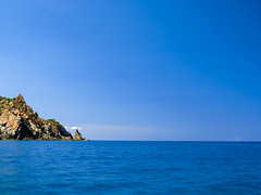 Into the blue (max832) Tags: barca boat rocks mare sea blue color blu estate 2018 summer coast costa seascape landscape italia italy sardinia sardegna micro43 mft em10mark3 olympus