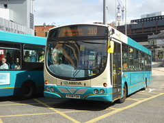 Arriva North West 2928 CX58 FZK on 310, Hood St, Liverpool (sambuses) Tags: arrivanorthwest 2928 cx58fzk