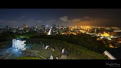 Kaohsiung city night view (Hong Yu Wang) Tags: sony a73 a7m3 a7iii 1224g kaohsiung night landscape taiwan love 高雄 忠烈祠 夜景 高雄港 port city