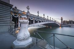 Splendor of Paris (Sizun Eye) Tags: paris france seine river bridge pontalexandreiii alexandreiii city urban le poselongue longexposure nikond750 1424mm nikon1424mmf28 nikkor nisifilters architecture iledefrance