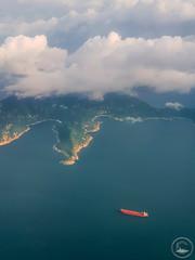 The Voyage (www.35mmNegative.com(On a Break, Catchin) Tags: www35mmnegativecom reetom hazarika photography aerial clouds ship voyage ocean hong kong hongkong travel tourism morning flight