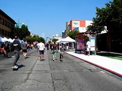 folsom/7th street (citymaus) Tags: sundaystreets sf sanfrancisco soma folsom street openstreets event muni bus pad shelter stop