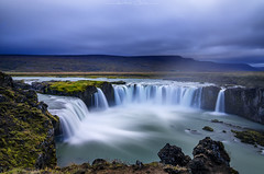 Beyond The Lands (_Amritash_) Tags: beyondthelands iceland landscape landscapes icelandiclandscapes waterfall godafoss longexposure longexposurejunkie clouds highlands travel