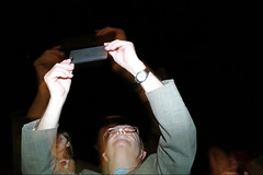(Mr. Telephone Man) (Robbie McIntosh) Tags: leicam9p leica m9p rangefinder streetphotography 35mm leicam autaut candid strangers leicaelmarit28mmf28iii elmarit28mmf28iii elmarit 28mm man woman flash shutterdrag draggingtheshutter slowflash trails night longexposure dance tammorra taranta