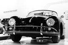 Oldie B&W (Explored) (cmctaggs) Tags: petersen auto museum automotive car vehicle motor roat engine porsche design los angeles la cali california west coast rich people cars