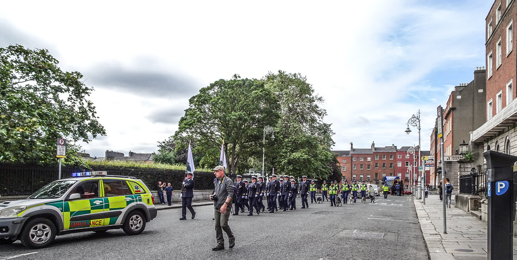 NATIONAL SERVICES DAY [PARADE STARTED OFF FROM NORTH PARNELL SQUARE]-143553
