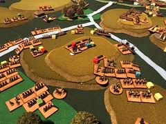 Borodino 1 The fleches (bbbchrisp) Tags: borodino 1812 battle wargame scenario bbb bloody big battles