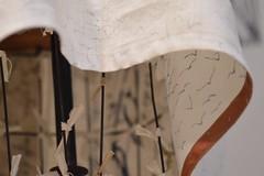 a little silk for the hem (Danny W. Mansmith) Tags: dannymansmith workinprogress handmadeclothing pullover patchwork linen story birds flight stains sewing burienwashington handmade oneofakind flatfelledseams facings silk nature hope magic