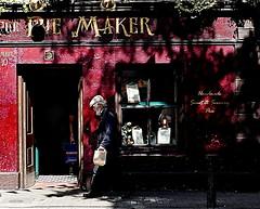 Handmade (Rococo57) Tags: rococo57 ireland shadows oldman bakkery bread piemaker pie red black shadow