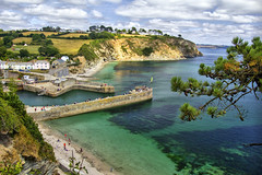 Charlestown (Doogs Pics) Tags: charlestown poldark harbor beach cornwall west country historic st austell sky cliffs windsurf windsurfing sea faring
