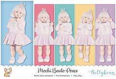 { Bellybean } Mochi Bento Poses AD (Bella Parker) Tags: bellybean secondlife bento bentopose event sl slevent slblog slrelease release toddleedoo td toddler tdevent tdposes slpose slbento