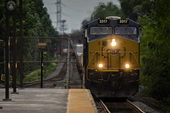 CSX-3317 ! (cyberdoctorind) Tags: ifttt 500px railroad track tramway cottonwood canyon wenatchee national forest train crossing harriman state park railway car crawford notch holyoke intersecting