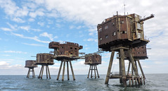 Red Sands Forts. (Peter Herridge) Tags: maunsellforts redsandsforts international geographic